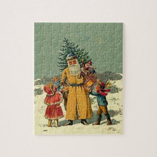 old world santa jigsaw jigsaw puzzle