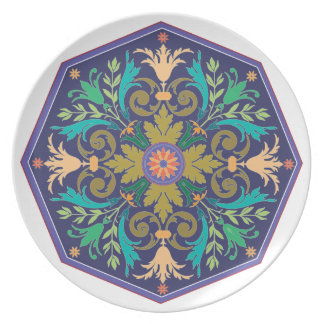 Old world Style Plate 118