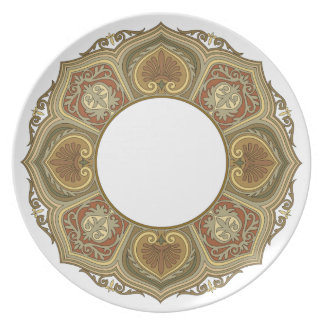 Old world style Plate 135