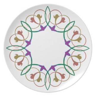 Old world style Plate 192
