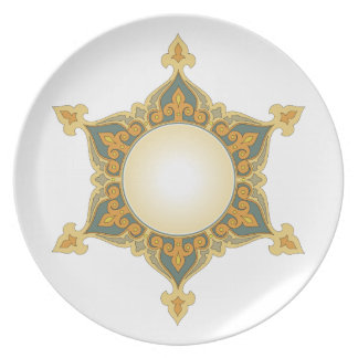Old world style Plate 204