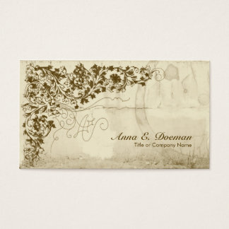 Old World Vines Business Card