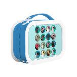 Blue yubo Lunch Box