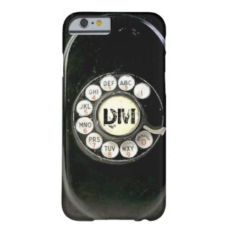 Old worn bakelite phone rotary dial barely there iPhone 6 case