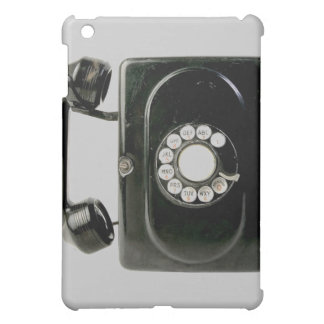Old worn bakelite phone rotary dial cover for the iPad mini