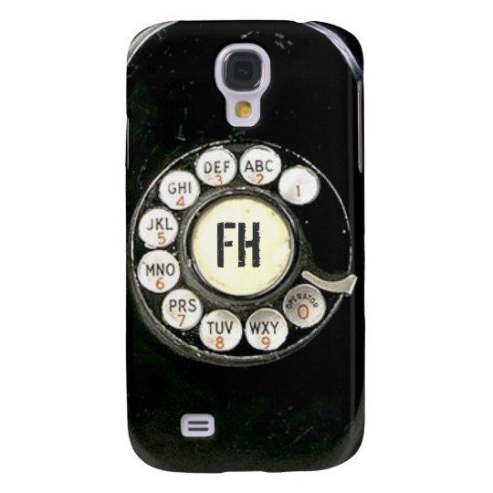 Old worn bakelite phone rotary dial samsung galaxy s4 case