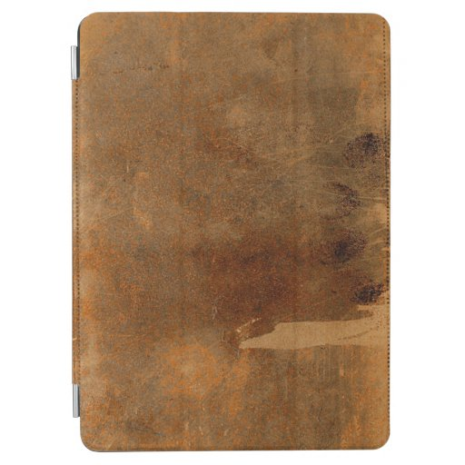 Old Worn Leather Book Cover iPad Air Cover