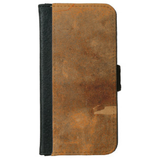 Old Worn Leather Book Cover iPhone 6 Wallet Case