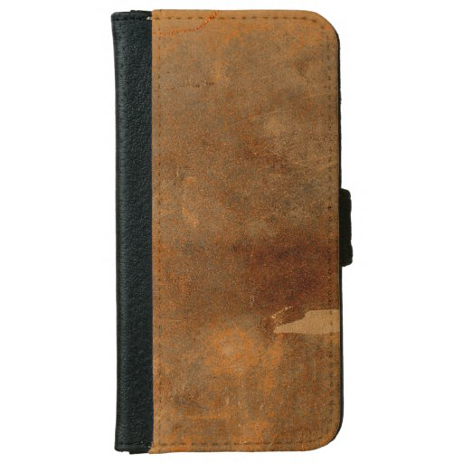 Old Book Cover Iphone : Old worn leather book cover iphone wallet case zazzle