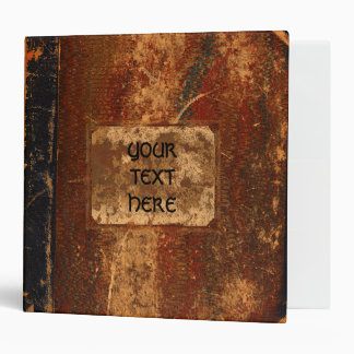 Old Worn Out Grunge Text Book Binder