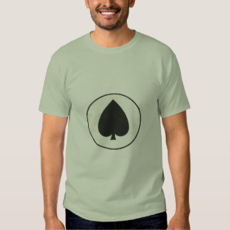 Old Worn Out Play Card Print Tshirt