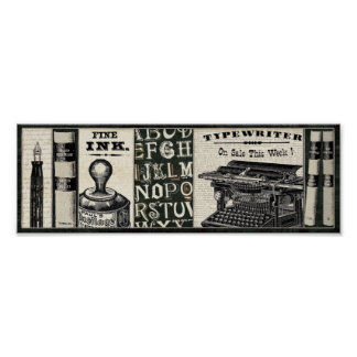 Old Writing Instruments Print