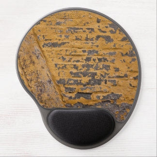 Old yellow wall gel mouse mats