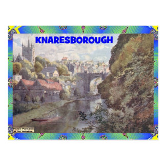 OLD YORKSHIRE - KNARESBOROUGH POSTCARD