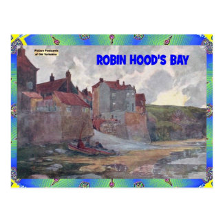 OLD YORKSHIRE - ROBIN HOOD'S BAY POSTCARD