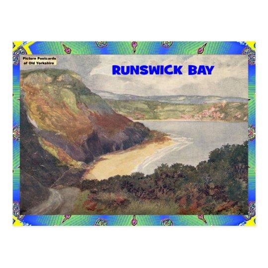 OLD YORKSHIRE - RUNSWICK BAY POSTCARD
