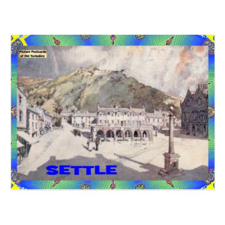 OLD YORKSHIRE - SETTLE POSTCARD