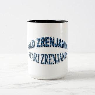 Old Zrenjanin Two-Tone Coffee Mug
