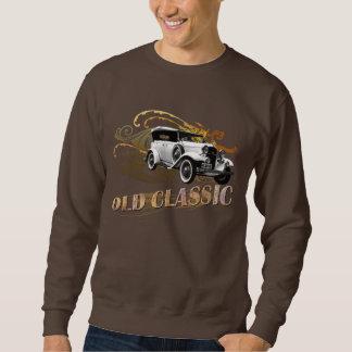 OldClassicCar_BSweatshirt Pullover Sweatshirts