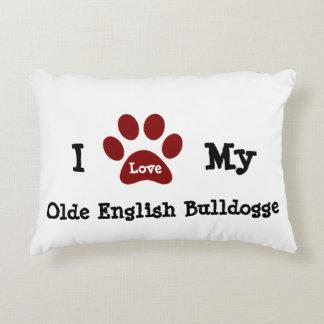 Olde English Bulldogge Decorative Pillow