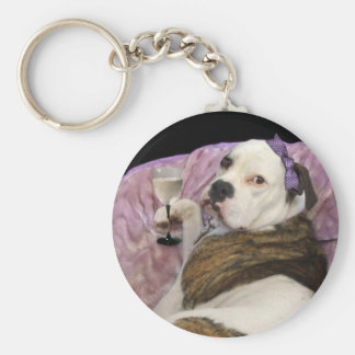 olde english bulldogge keychain