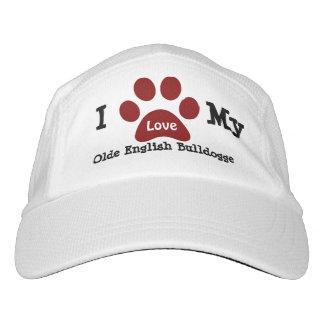 Olde English Bulldogge Love Headsweats Hat