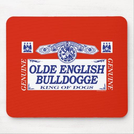 Olde English Bulldogge Mouse Pads
