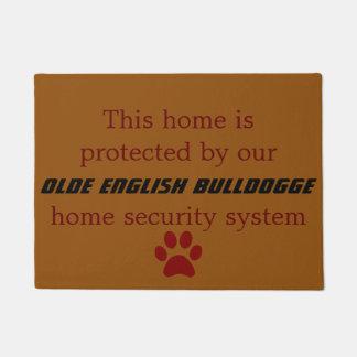 olde english bulldogge security doormat