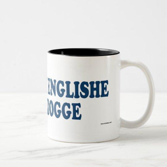 Olde Englishe Bulldogge Blue Two-Tone Coffee Mug