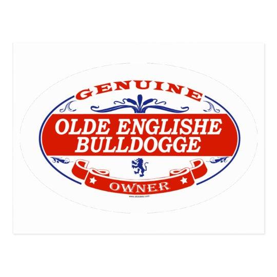Olde Englishe Bulldogge  Postcard