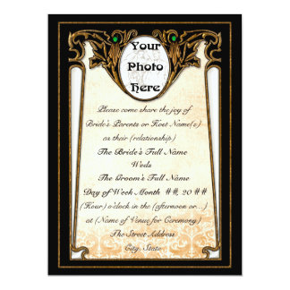 Olde New Orleans (Wedding Invitation) Card