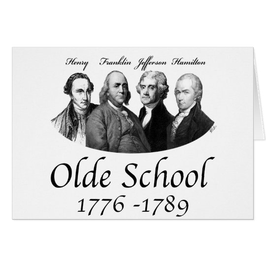 Olde School Card