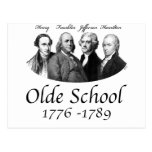 Olde School Postcard