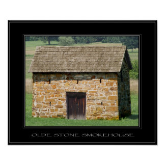 OLDE STONE SMOKEHOUSE The Old Stone Collection Poster