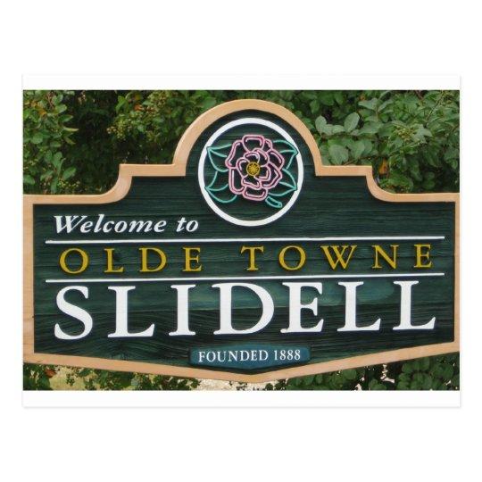 Olde Towne Slidell Postcard