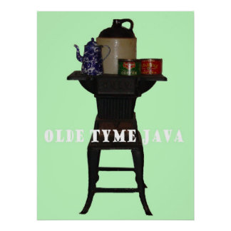 Olde Tyme Java Poster