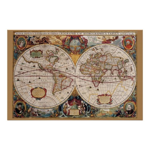 Olde World 36 x 24 Poster
