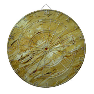 Olde World Marble Dartboard With Darts
