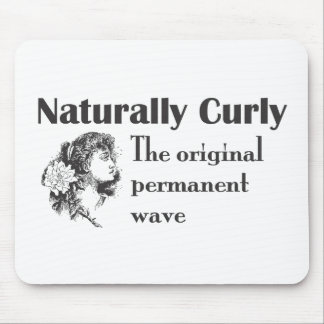 Olde World Naturally Curly Mouse Pad