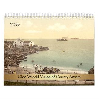 Olde World Views of County Antrim Calendar