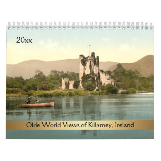 Olde World Views of Killarney Ireland Calendar