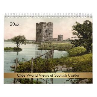 Olde World Views of Scottish Castles Calendar