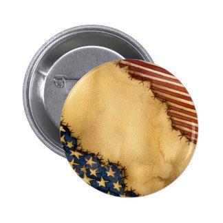 olden days flag merchandise pinback button