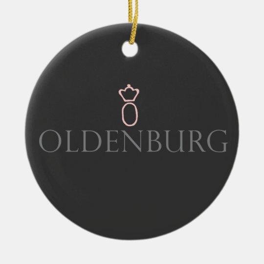 Oldenburg Ceramic Ornament