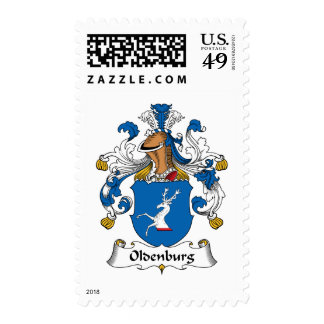 Oldenburg Family Crest Postage