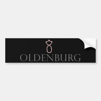 Oldenburg Horse Bumper Sticker