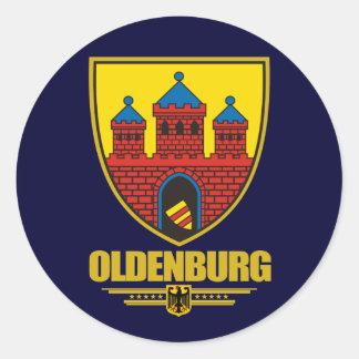 Oldenburg Pegatina Redonda