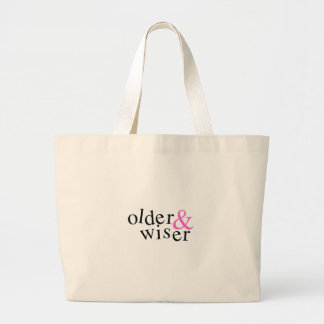 Older and Wiser Canvas Bags