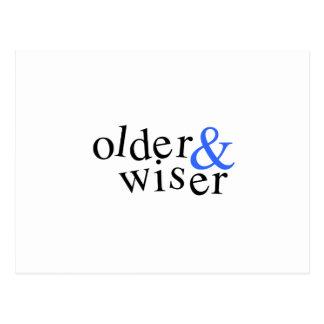 Older and Wiser Postcards