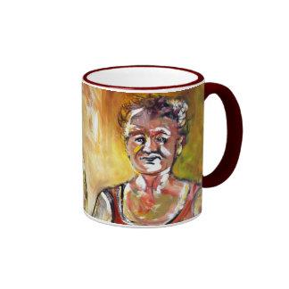 Older Bolder Ladies Ringer Mug